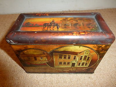 Vintage Kelty Confectionary Tin Co-Operative Society Ltd 1874 & 1924 Jubilee