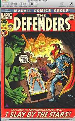 Defenders + Marvel Feature + Marvel Two In One + Super Villain Team-Up on DVD