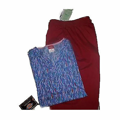 NWT Crest and Dickies Medical Scrub Set XS
