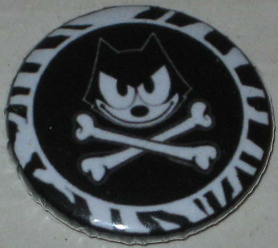"Felix the Cat ""Skull & Bones"" Pin 1"""