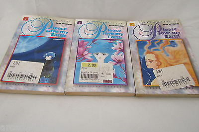 Lot Mangas Please Save My Earth Tome 2 A 4 Vf