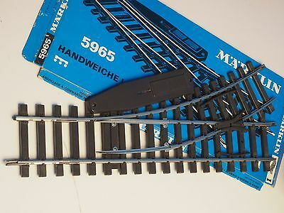 5965 Marklin Scale 1 gauge Left Turn out switch 30 degree  600mm radius