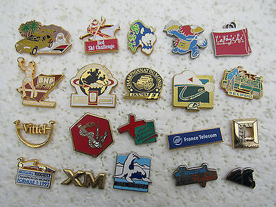 Lot De 20 Pin's Signes Arthus Bertrand