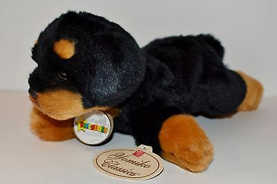 New Plush Russ Berrie Rottweiler Puppy Dog Superdogs Yomiko Classics w Tags