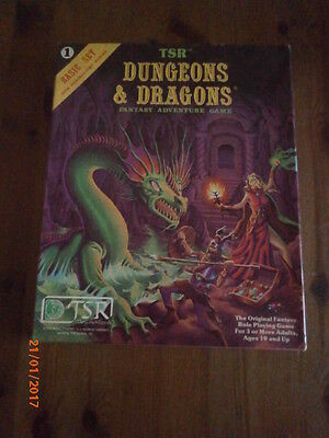 Dungeons & Dragons Basic Set 1011 By TSR Complete and Boxed In Vgc