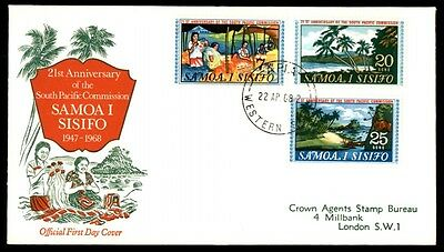 Samoa 1968 South Pacific Commission 1968 Cacheted FDC