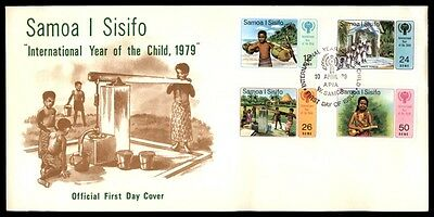 April 10, 1979 West Samoa I Sisifo official first-day cover with cachet