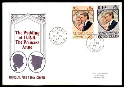 November 14 1973 wedding Princess Anne HRH first day cover Seychelles