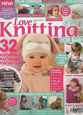 Love Knitting for Baby Magazine Issue 3 FEBRUARY/MARCH 2014