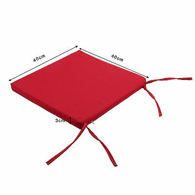 Waterproof adult garden dining chair cotton cushion seat pads Removable Cover-01