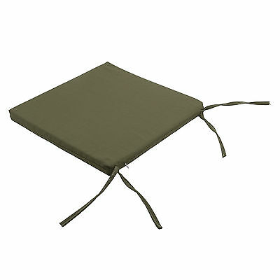 Waterproof  garden dining chair cotton cushion seat pads Removable Cover-0904