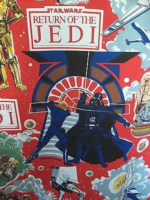 STUNNING PAIR  OF collectable ,star wars (return of the jedi) 1983 ,CURTAINS