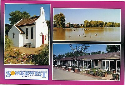 Butlin's Somerwest World Holiday Camp - Minehead - Multi View Postcard