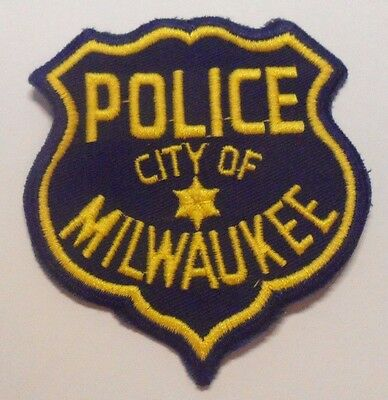 Old Milwaukee Wisconsin Police Patch Unused
