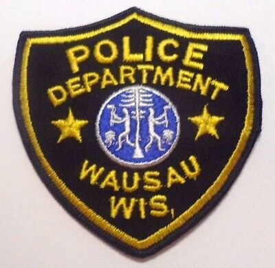 Old Wausau Wisconsin Police Patch Unused