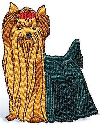 Yorkshire Terrier 10 Machine Embroidery Designs 2 Sizes