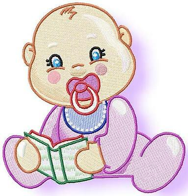 Cheeky Baby 10  Machine Embroidery Designs 2 Sizes