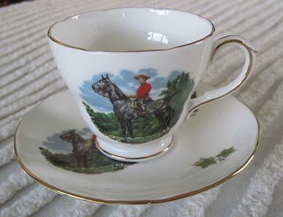 Duchess Bone China Royal Canadian Mounted Police Cup and Saucer England
