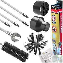 Linteater Lint Eater Rotary Dryer Vent Cleaning System 10 Pieces 12 Feet Gardus