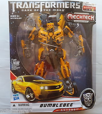 "GENUINE 10"" TRANSFORMERS 3 DOTM Leader Class BUMBLEBEE FIGURE **Post from MELB**"