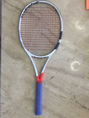 Babolat Pure Strike 16x19 Project One7 4 1/8 with ALU x Cyclone Tennis Racket
