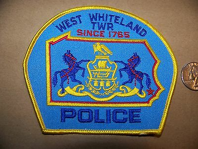 West Whiteland Twp, Pa Police Patch