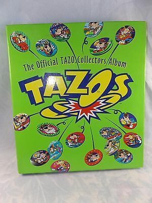 The Official TAZO Collectors Album COMPLETE with 220 Tazo's.