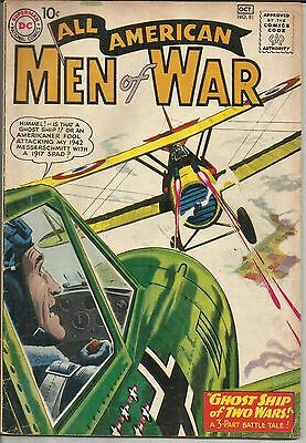 All American Men Of War #81 DC Comic 1960 VG+