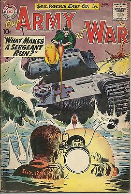 Our Army at War #97 DC Comic 1960 VG