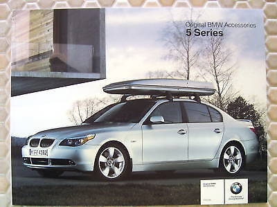 Bmw 5 Series Official Accessories Brochure 2004 Usa Edition