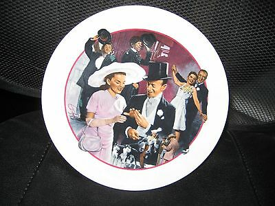 """Avon Images of Hollywood, """"Easter Parade"""" 8"""" Plate"""