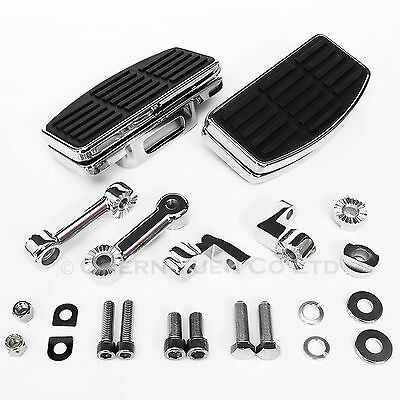 CYC Adjustable Footboard Set w/ Fixture for Harley-Davidson Softail Sportster