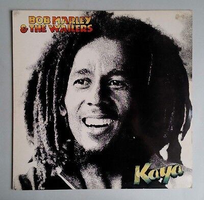 Bob Marley & The Wailers - Kaya - Vinyl LP UK 1978