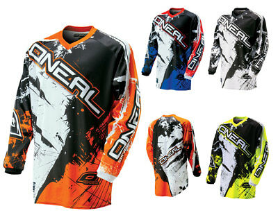 Oneal Element Kinder Jersey SHOCKER MX Enduro Motocross Shirt
