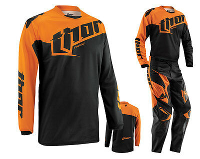 Thor Phase MX Shirt S15 TILT orange Enduro Quad Motocross Jersey Gr. XL