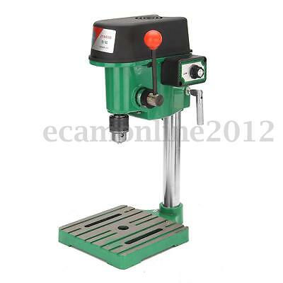 Tabletop Electric Bench Drill Press Collet Stand Workshop Workbench Repair Tool