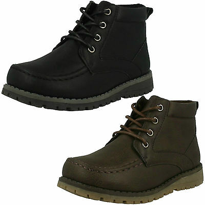 WHOLESALE Boys Ankle Boots / Sizes 5x12 / 18 Pairs / N2040