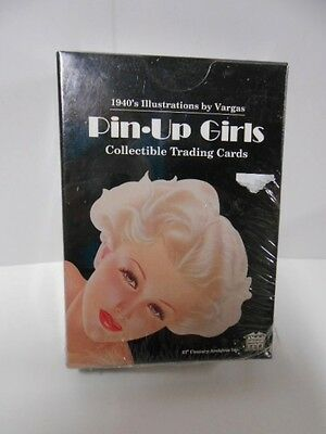 Vargas art Pin-Up 1940s girls factory cards set 1990