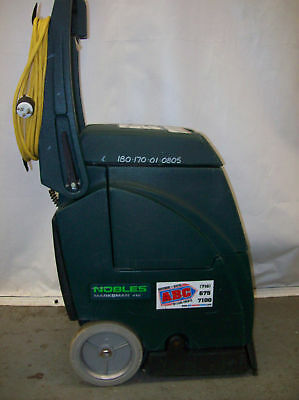 Used Nobles Carpet Cleaner Extractor Hot Water Rug Shampooer Cleaning Machine