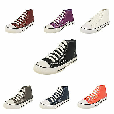 WHOLESALE Boys/Girls Canvas Hi-Top Pumps / Sizes 13x5 / 18 Pairs / X0002