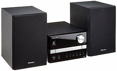 Pioneer X-EM12 CD Player USB MP3 FM Tuner Radio Micro Hi-Fi System 30W Black