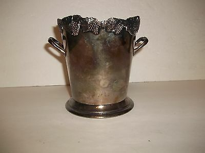 Vintage Carrington Old Sheffield SILVER PLATED WINE CHAMPAGNE COOLER ICE BUCKET