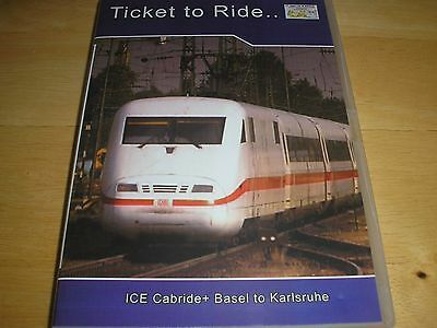 Ticket to Ride ICE Cabride + Basel to Karlsruhe