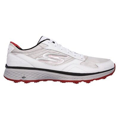 Skechers Go Golf Fairway Men's Golf Shoes 54516 White Black Red Pick Your Size