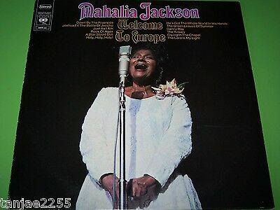 Mahalia Jackson - Welcome to Europe - CBS LP