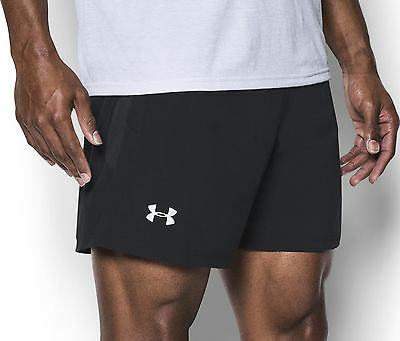 Under Armour Launch SW 5 Inch Mens Running Shorts - Black