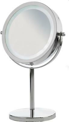 Andrew James Vanity Mirror / Magnifying Makeup Cosmetic Chrome Portable Mirror