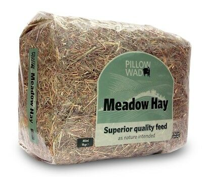 Pillow Wad Meadow Hay, 1kg. Rabbit, Guinea Pig