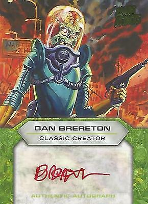 "Mars Attacks Invasion - ""Dan Brereton"" Classic Creator Autograph Card"