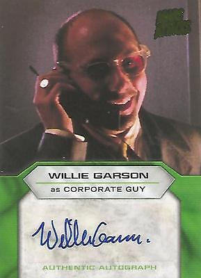 "Mars Attacks Invasion - Willie Garson ""Corporate Guy"" Autograph Card"